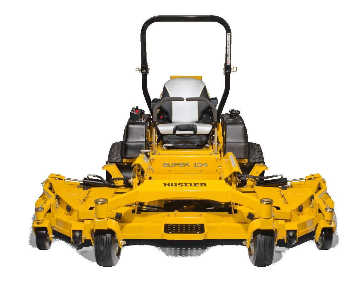 SUPER 104 MOWER GRAPHIC